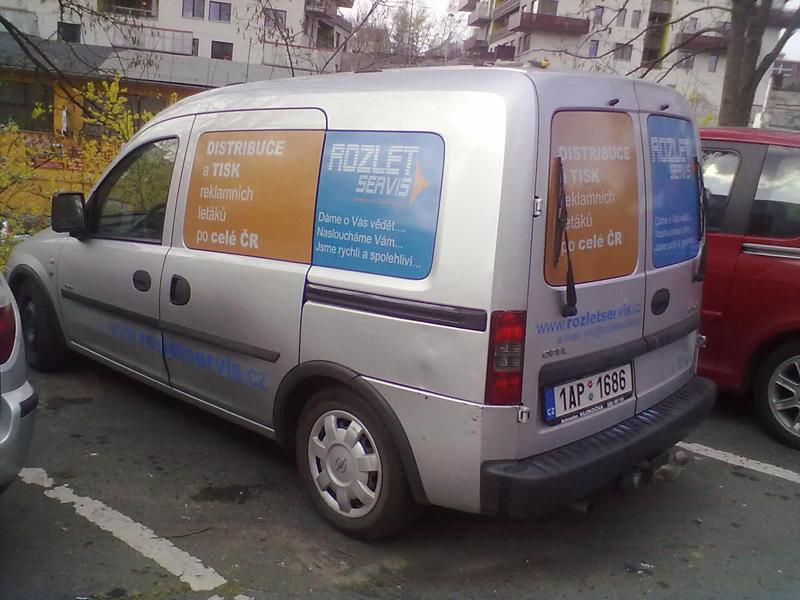 reklamni polepy aut